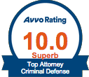 Avvo Criminal Badge