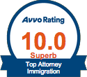 Avvo Immigration Badge